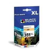 BLACKPOINT TUSZ HP CB338EE ZAMIENNIK DJ5780/J5785 NR351XL KOLOR ***HAGHP351XLGL*