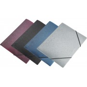 TECZKA FOCUS A4 NA GUMKĘ SIMPLE SREBRNA PANTA PLAST 0410-0057-12