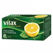 Herbata Vitax Inspirations zielona cytrynowa 20s