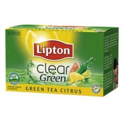 HERBATA LIPTON CLEAR GREEN TEA CITRUS 20T*
