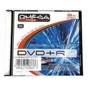 DVD/R 8,5GB OMEGA FREESTYLE 8X DOUBLE LAYER SLIM 1SZT ***OMDFDL810*