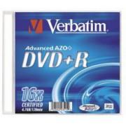 DVD+R 4,7GB VERBATIM  16X SLIM  1SZT