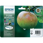 EPSON ATR. C13T12954010 TUSZE B/C/Y/M SX420W/SX425W/SX525WD/SX620FW Office: BX305F/BX305FW/BX320FW/BX525WD/BX625FWD***T12954010*