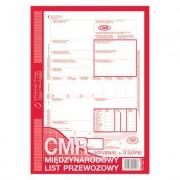 CMR  MIĘDZYNARODOWY LIST PRZEWOZOWY (NUMEROWANY)  A4  (O+5K)
