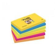 KARTECZKI SAMOPRZYLEPNE POST-IT® SUPER STICKY  PALETA RIO DE JANEIRO  76X127MM
