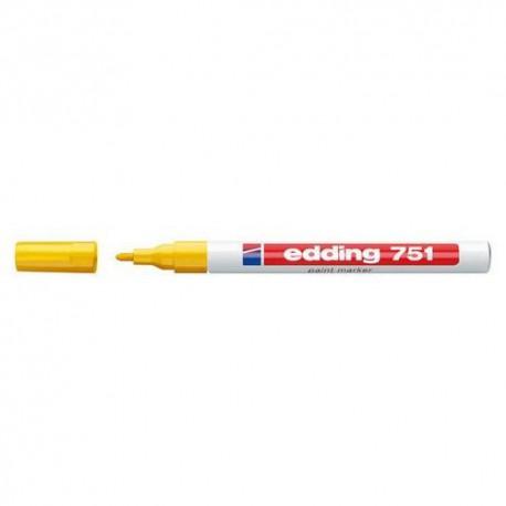 Marker olejowy 751 okr.żółty 10/Eddin K